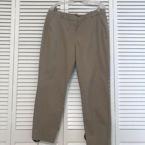 J Crew Factory Mercantile Pants, Khaki, Size 14